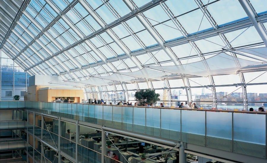 Restaurant ceiling panels