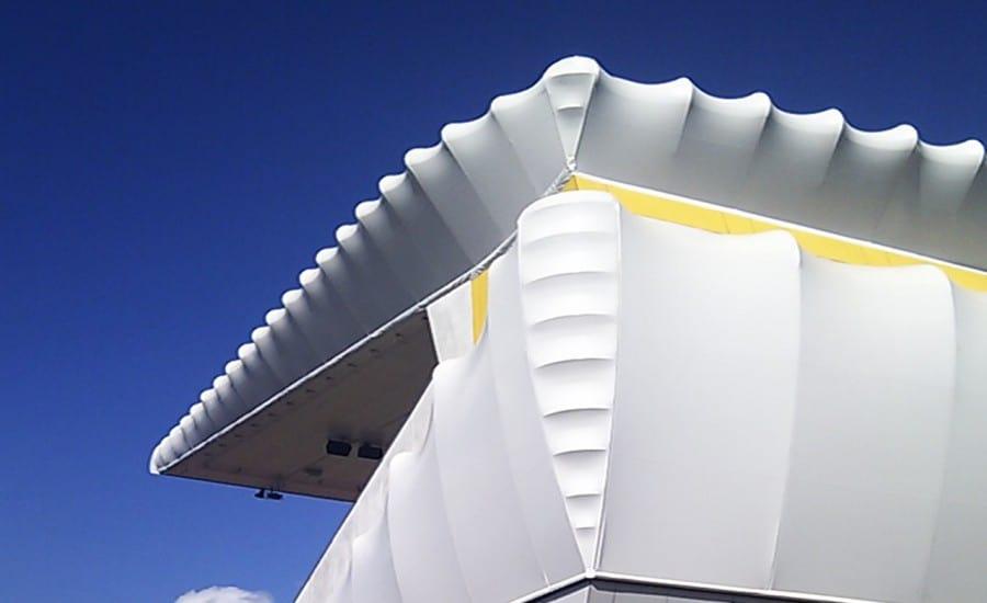 Granstand PVC canopy