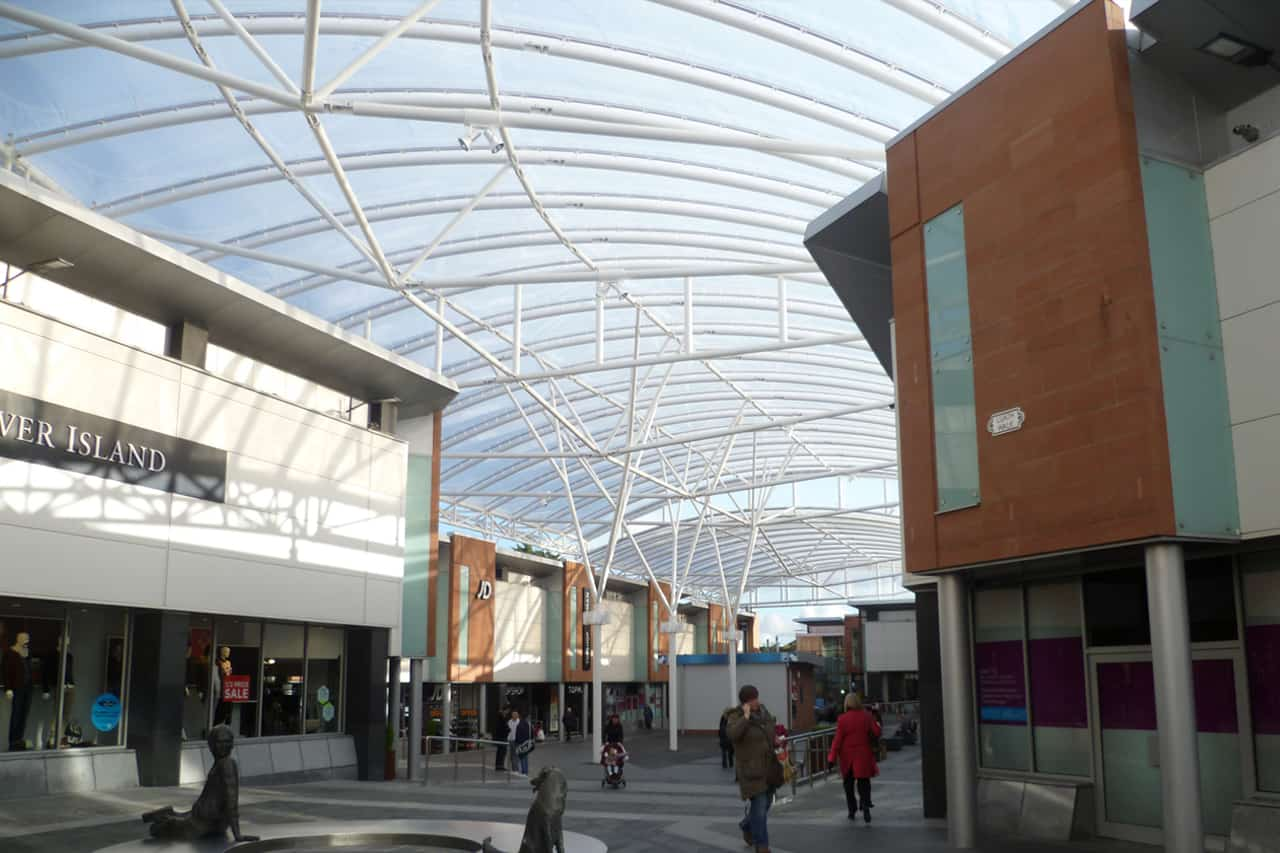 Etfe Canopy Ayr Central Shopping Centre Architen Landrell