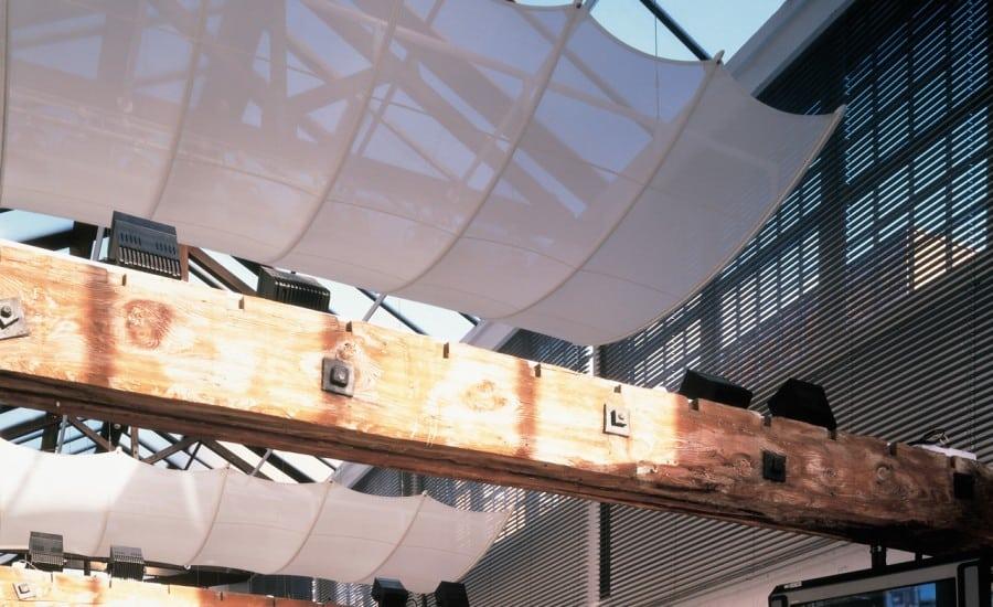 Interior fabric shade solution