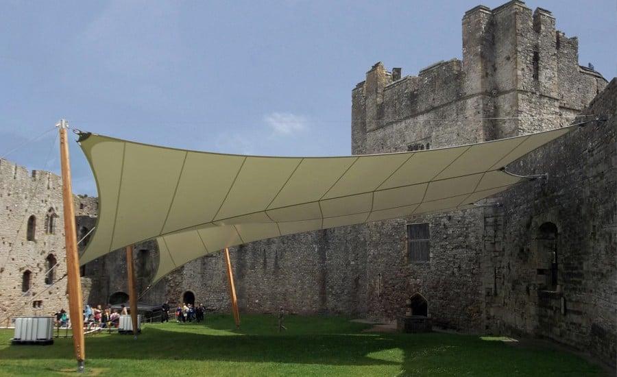 PVC tensile canopy