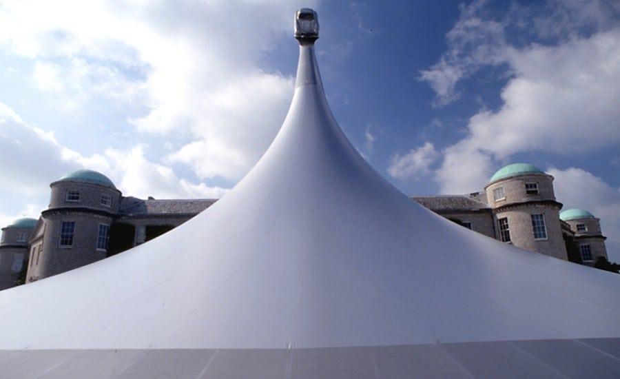 Goodwood festival canopy