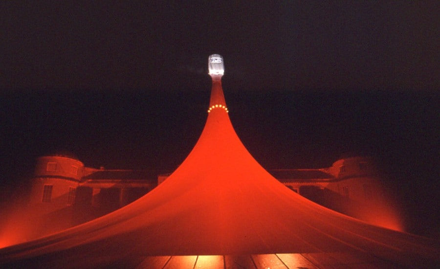 Tensile Fabric Structure Lit