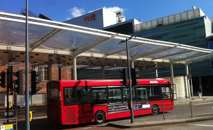 ETFE canopy over bus station