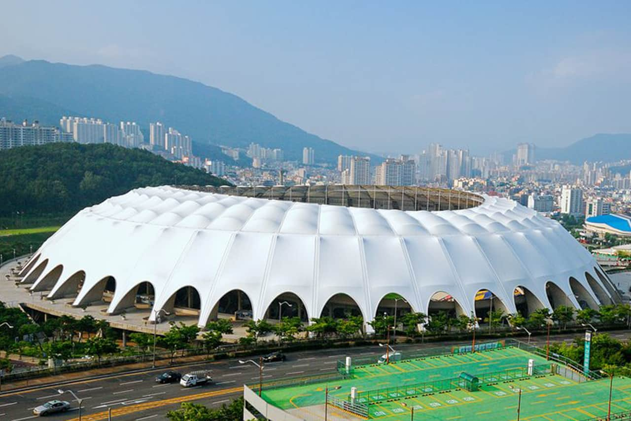 Pusan Stadium South Korea Architen Landrell