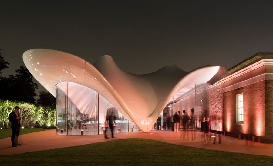 Thermal tensile fabric structure