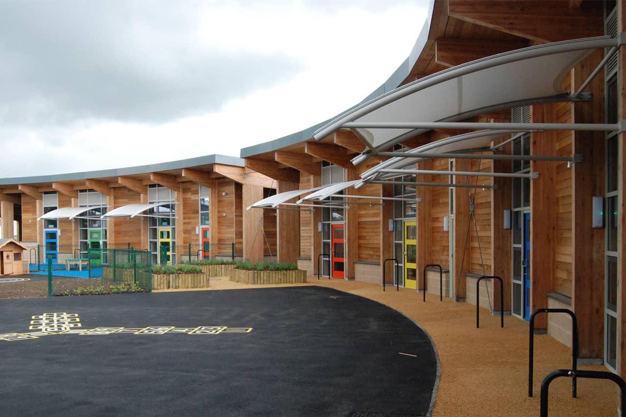 Shirland primary school architen landrell for Exterior design school