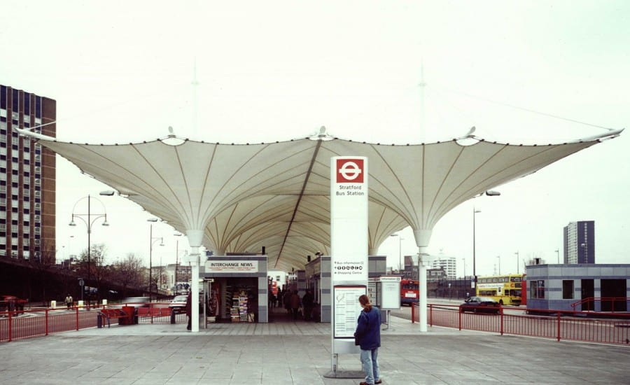 Conic fabric structures