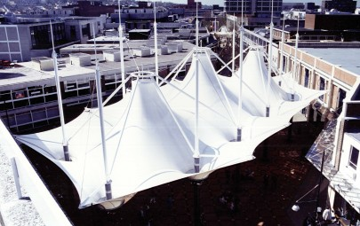 Triple conic fabric structure