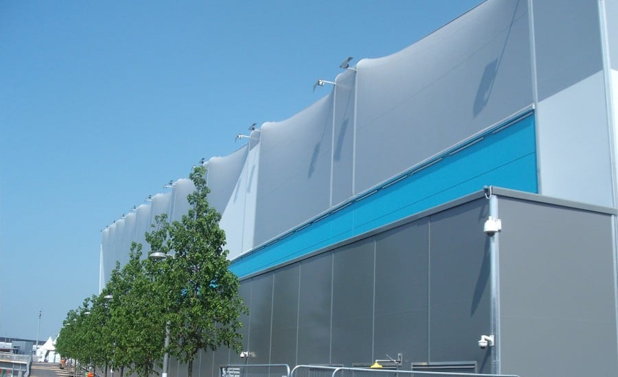 Olympic temporary water polo venue