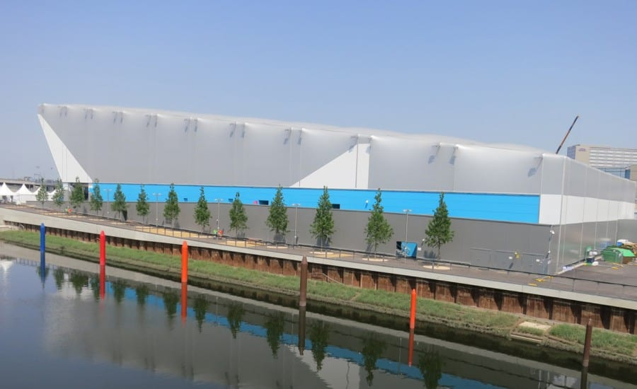 Demountable temporary venue for Olympic games
