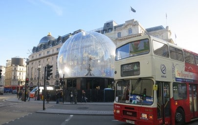 PVC globe structure