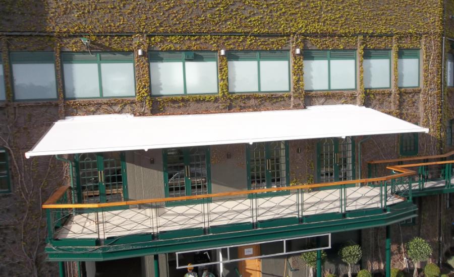 Terrace canopies
