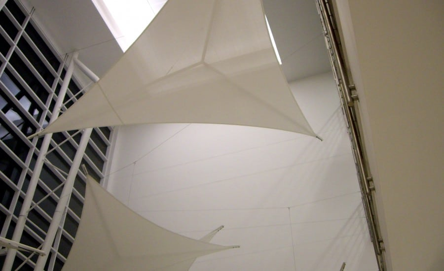 Lightweight fabric sails
