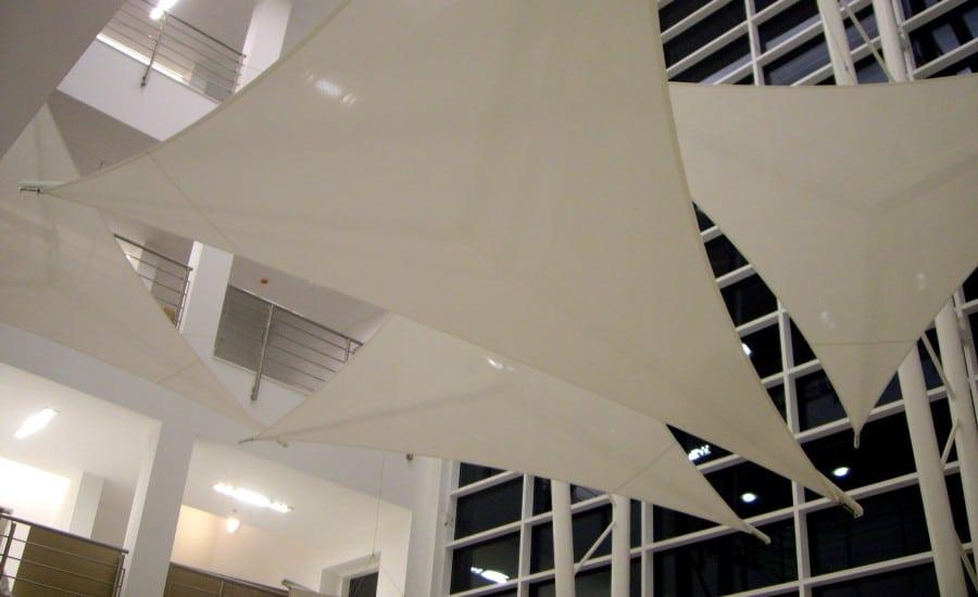 Interior Fabric Sails