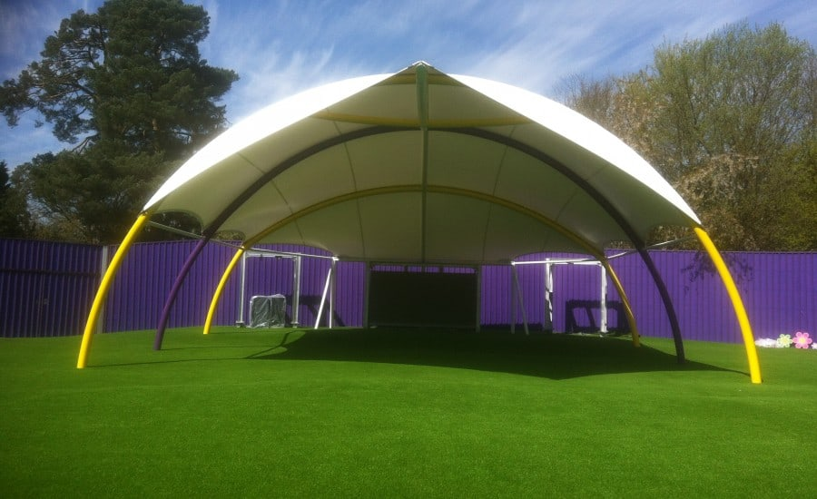 Outdoor performance canopy