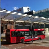 ETFE canopy bus station