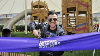 Peter Andre Opens Park