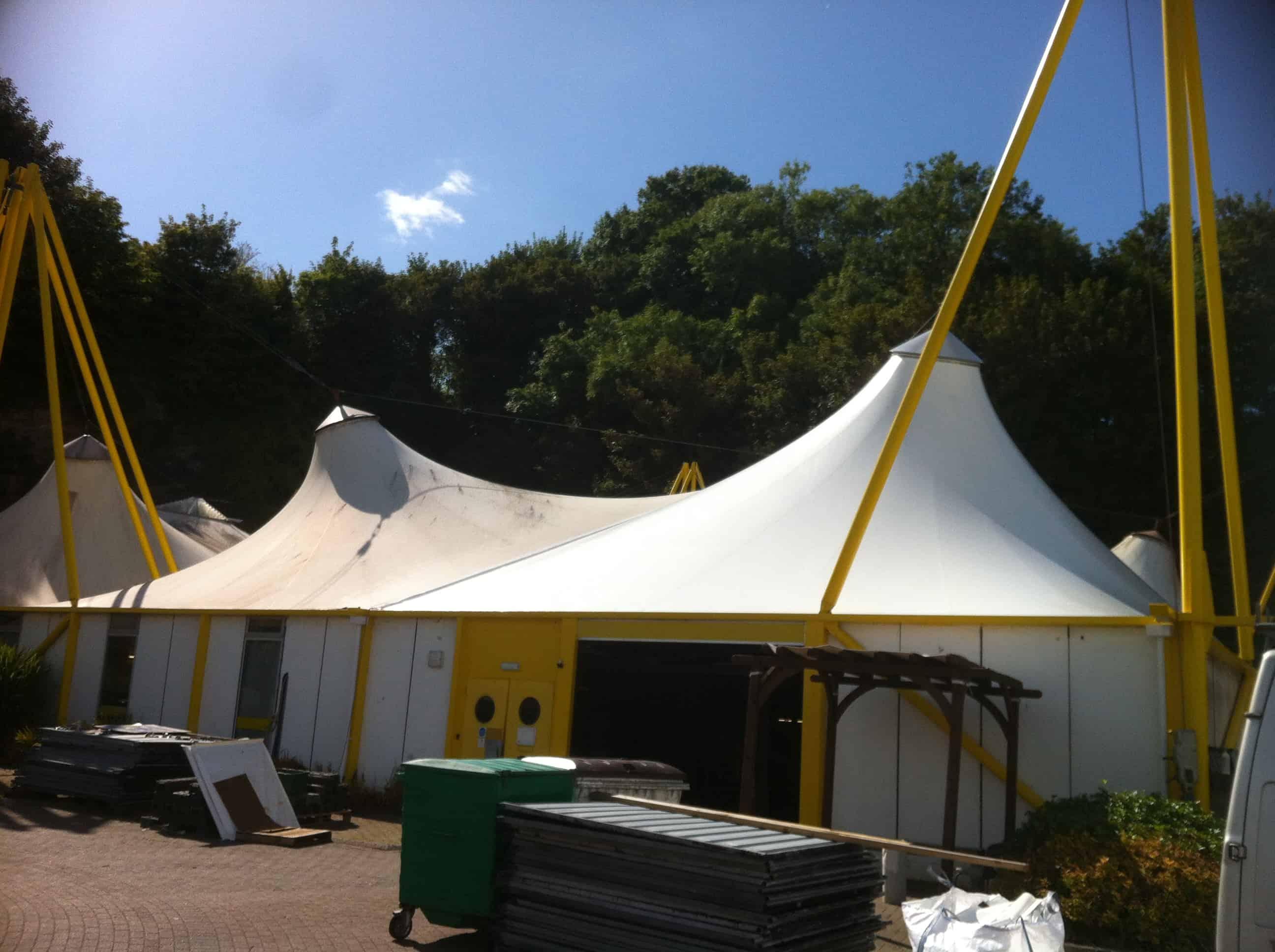 Update On New Fabric Roof System Architen Landrell