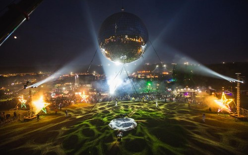 Worlds largest disco ball