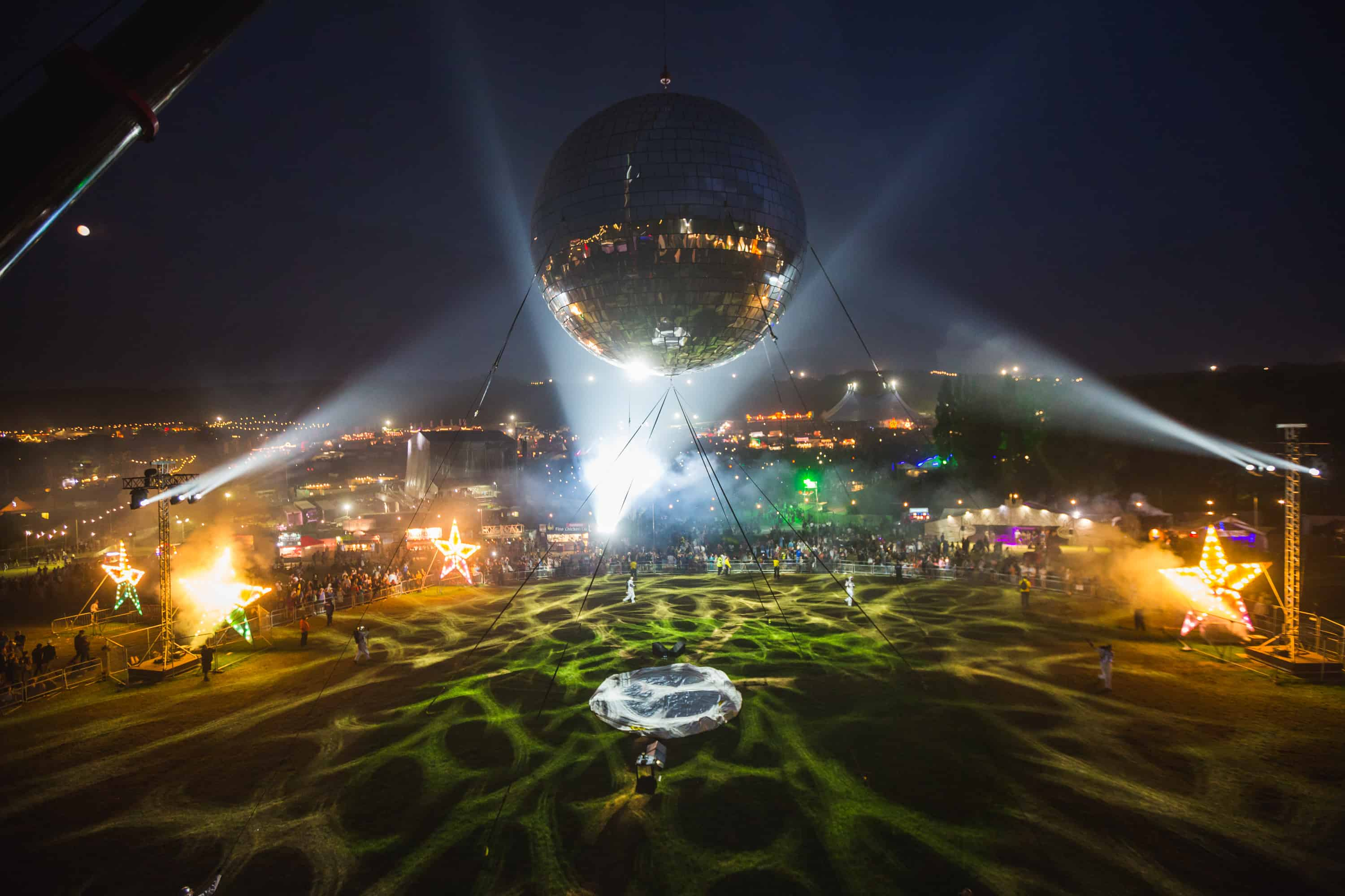 Inflatable Fabric Structure The World S Largest Disco
