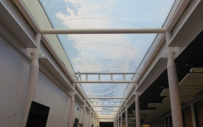 ETFE air filled roof system