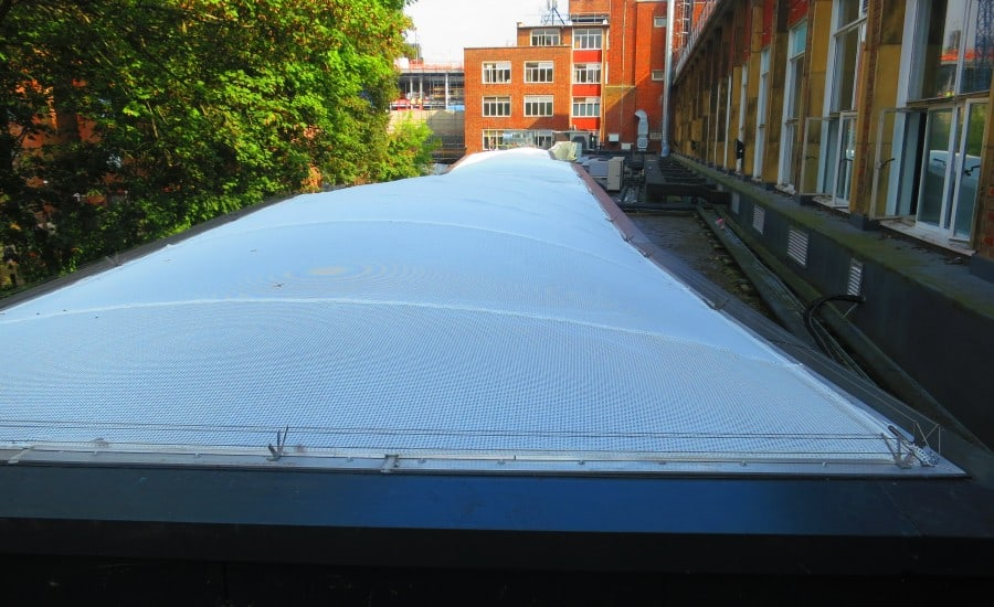 ETFE covered walkway