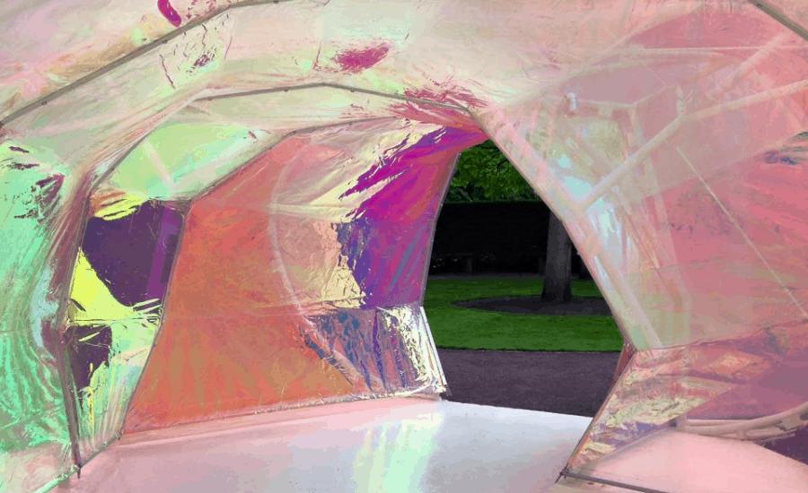 ETFE Foil, temporary strutcure