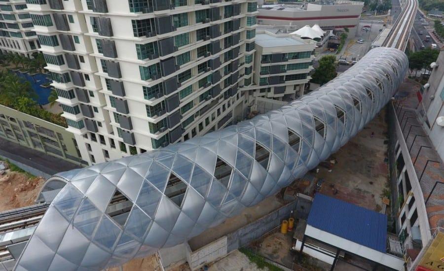 ETFE cladding