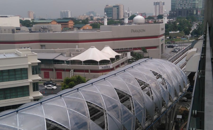 ETFE cushions in KL