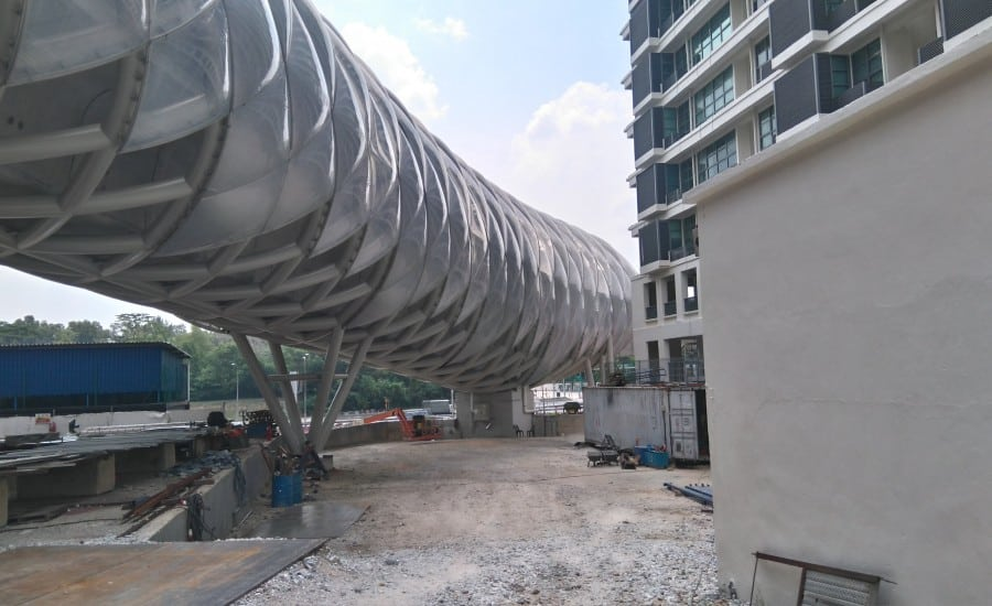 ETFE cushion cladding