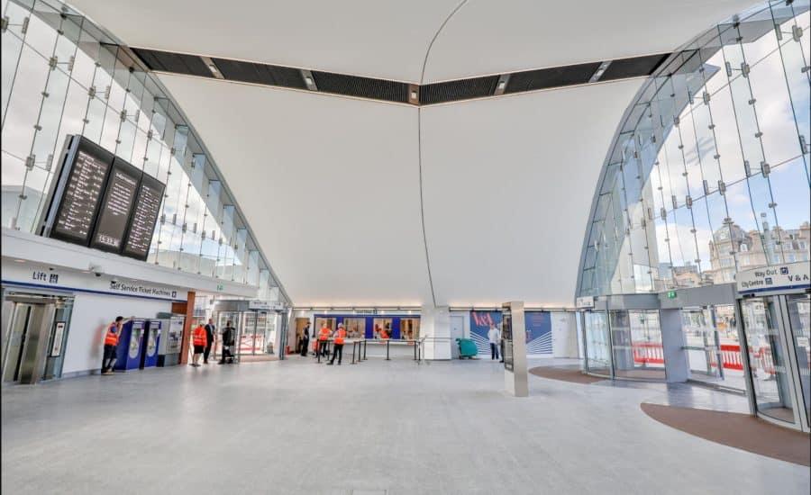 Fabric architecture ceiling
