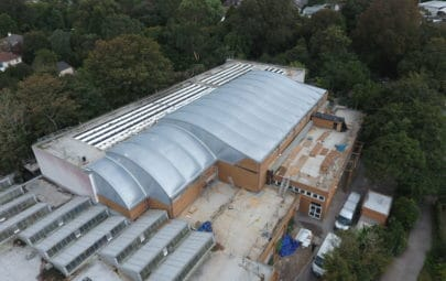 ETFE roofing