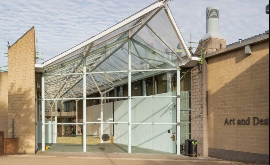 ETFE atrium