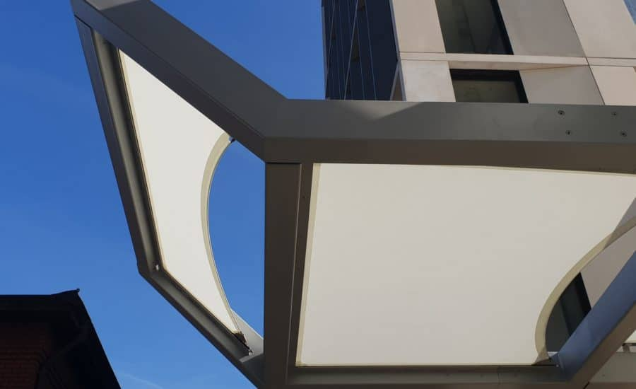 Architectural membrane sails