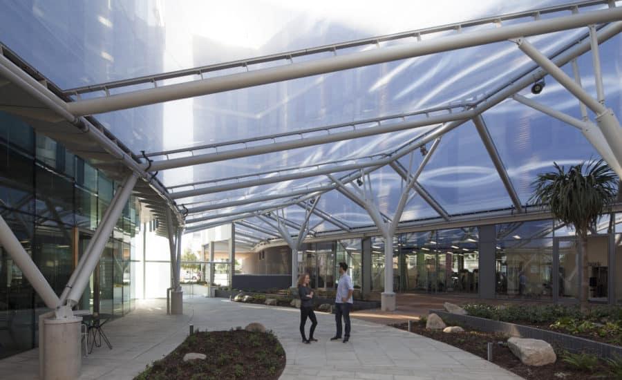 ETFE cushion roof membrane