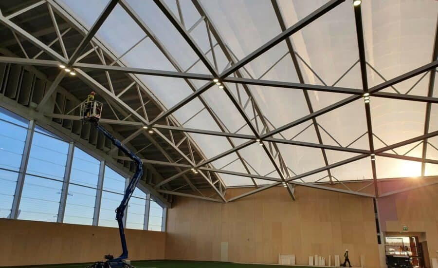 Translucent roofing ETFE