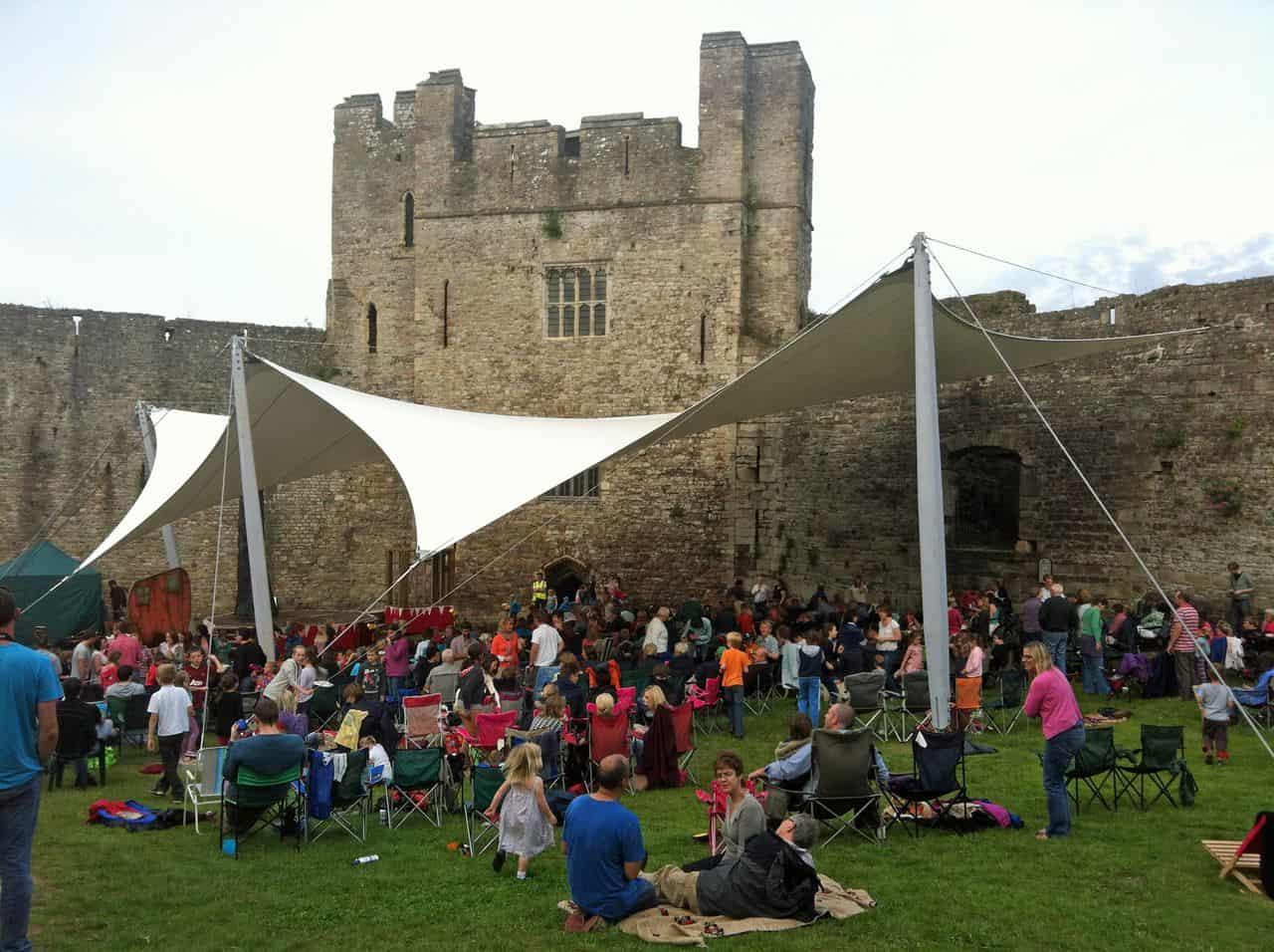 Chepstow Castle & Opera Holland Park - Architen Landrell