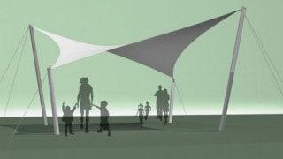 Standard Dune Fabric Canopy
