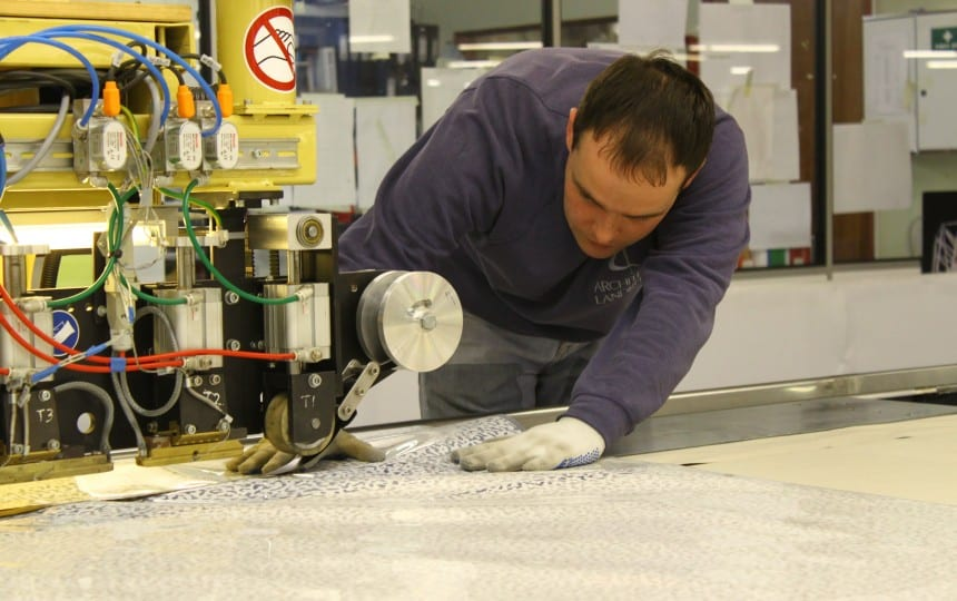 ETFE foil welding and fabrication