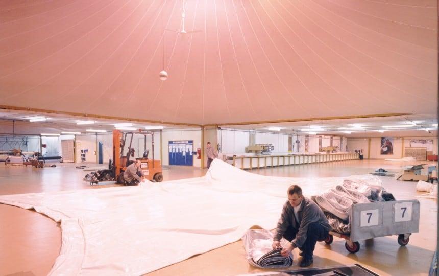 fabric canopy manufacture