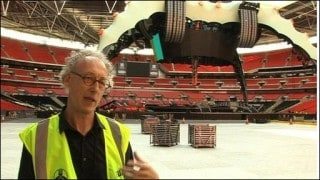 U2 World Tour – Centre Stage Fabric Structure