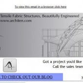 beautifully Engineered Tensile Fabric Structure