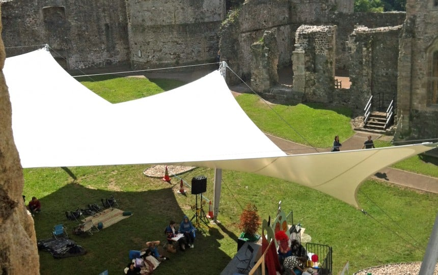 Chepstow Castle Demountable Canopy