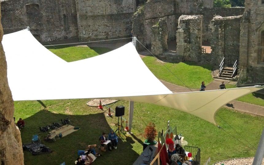 Chepstow Castle Demountable Canopy