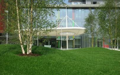 Eniskillern Hospital – Ambulance Drop off Fabric Canopy