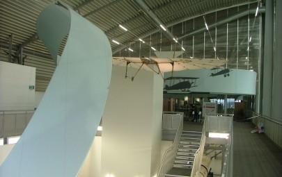 Impressive lycra installation