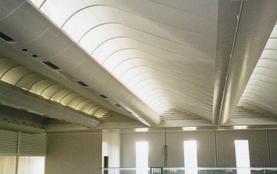 Internal fabric ceiling system