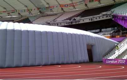 Olympic inflatable structure