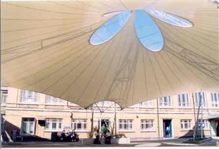 PTFE school canopy